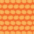 Pumpkin Background Seamless Pattern — Stock Photo