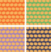 Pumpkin Backgrounds Collection — 图库照片