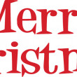 Stock Photo: Merry Christmas Lettering