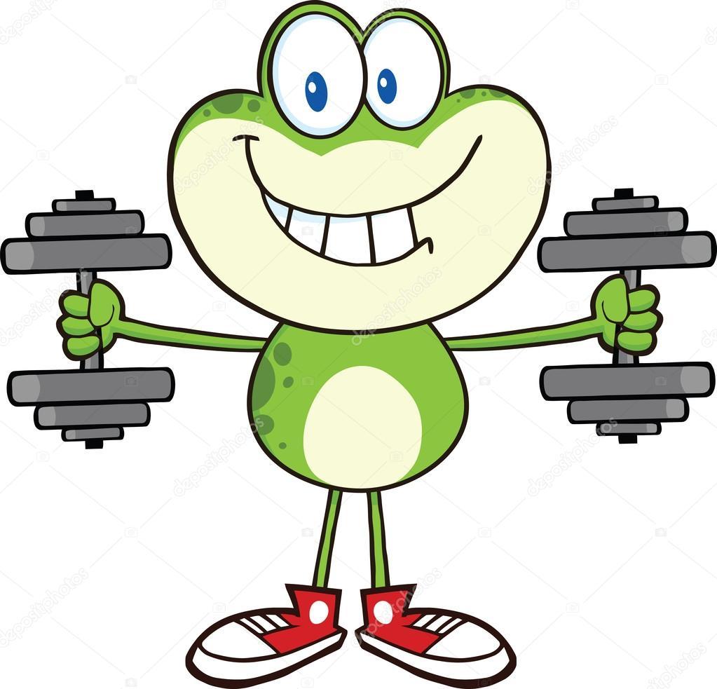 Sourire de grenouille verte dessin anim personnage formation avec des halt res photographie - Dessin de grenouille verte ...