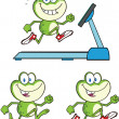 Frog Character 14 Collection Set — Stock Photo #41246771