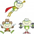 Frog Character 17  Collection Set — Stock Photo #41246801