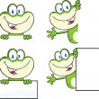 Frog Character 18  Collection Set — Stock Photo #41246803