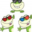 Frog Character 19  Collection Set — Stock Photo #41246849