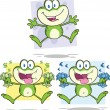 Stock Photo: Frog Character 20 Collection Set