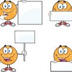Basketball Cartoon Characters 3  Collection Set — Stock Photo #43392523