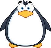 Cute Penguin Cartoon Character — Stock Photo
