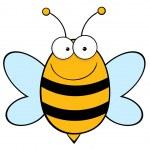 Happy Bee — Stock Photo #7276827