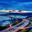 Stock Photo: Tsing Ma Bridge