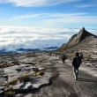 South Peak, Mount Kinabalu - Stock Photo