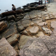 Geological feature of Tung Ping Chau — Stock Photo #17005733