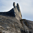 Dockey Ear summit, Mount Kinabalu - Stock Photo