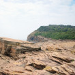 Strang geological formation in Tung Ping Chau in Hong Kong — Foto de stock #17006097
