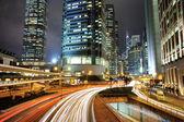 City Dynamic Night — Stock Photo