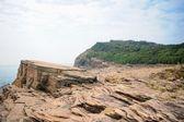 Strang geologisk formation i tung ping chau i hong kong — Stockfoto