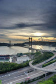 Tsing ma puente — Foto de Stock