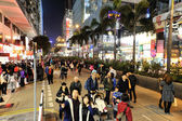 Christmas Eve in Hong Kong — Stock Photo