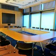 Stock Photo: Empty office conference room