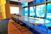 Empty office conference room — Stock Photo