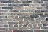 Gray brick wall — Stock Photo