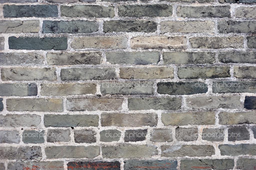 Grijze bakstenen muur stockfoto 18241089 for Grijze muur