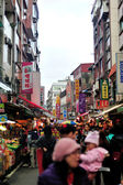 Danshui Old Street — Stock Photo