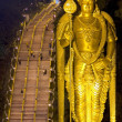 Stock Photo: Night at batu caves, kuallumpur, malaysia