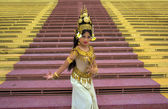 Apsara Dancer — Stock Photo