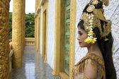 Apsara Dancer beautiful supernatural female in asian mythology — Stock Photo
