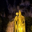 Stock Photo: Night at batu caves