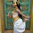 Постер, плакат: Apsara Dancer Performance in Temple