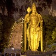 Night at batu caves - Stock Photo