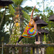 Stock Photo: Yogin balinese temple
