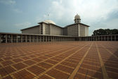 Istiqlal mosque, jakarta, indonesia — Stock Photo