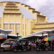 PHNOM PENH - JUNE 2012: cambodian central market, cambodia — Stock Video