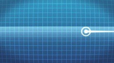 Waveform monitor — Stock Video