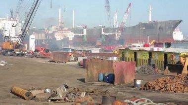 Endüstriyel Limanı — Stok video