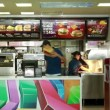 Inside of a McDonald's Restaurant — Stock Video