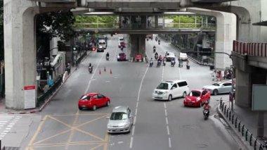 Bangkok streets — Stock Video