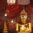 Giant Golden Buddha Statue - Stock Photo
