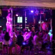 Stock Video: Striptease club with naked performance