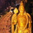 Stock Video: Night at batu caves, kuallumpur, malaysia