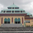 Masjid RayBatam pyramid mosque, batam island, indonesia — Stock Video #22943656