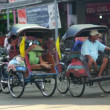Transportation with cyclo - Stock Photo