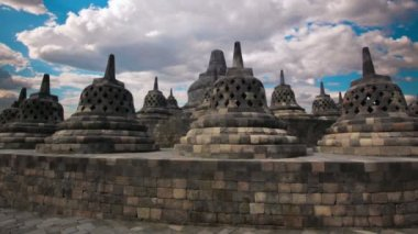 Borobudur, indonesia — Stock Video