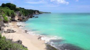 Idyllic Beach at Bali island — Stock Video