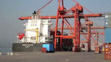 货运船 — 图库视频影像