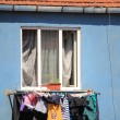 Stock Photo: Clothes drying at turkish ghetto in istanbul