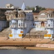 Stock Photo: View of Pushkar, Rajasthan, India