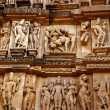 Group Sex Figures in Kama Sutra Temples in India — Stock Photo #38393173